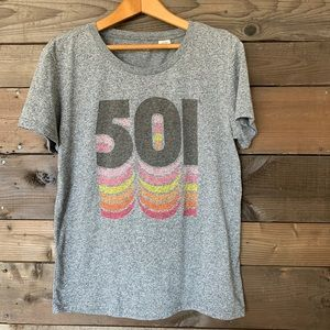 Levi's 501 t-shirt